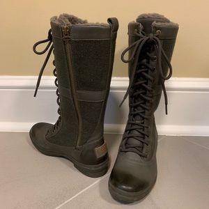 UGG ELVIA Slate Gray Tall Waterproof Boots